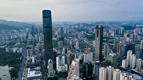 Shenzhen is marking 40 years since it became a special economic zone. Photo: Martin Chan