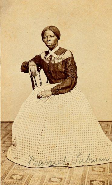 PHOTO: This undated file photo provided by Swan Auction Galleries shows a photograph of 19th century abolitionist Harriet Tubman. (Courtesy Swann Auction Galleries via AP)
