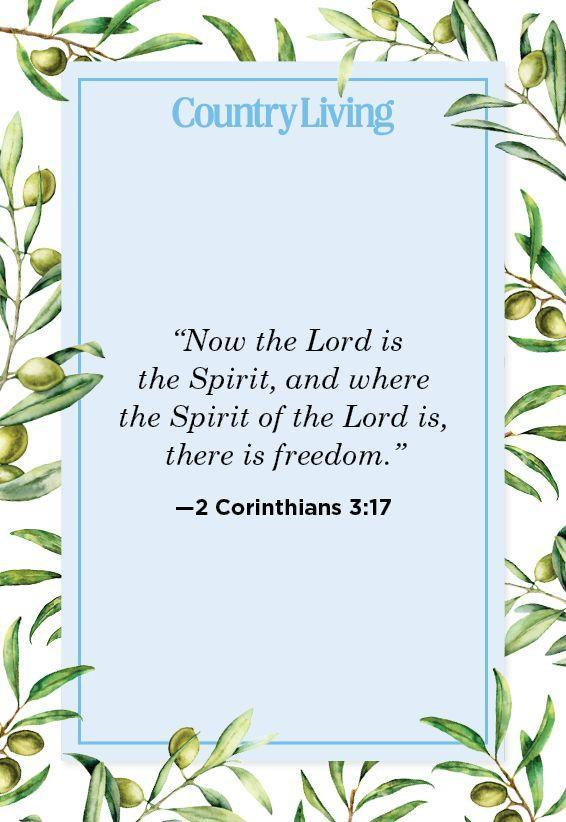 """<p>""""Now the Lord is the Spirit, and where the Spirit of the Lord is, there is freedom.""""</p>"""