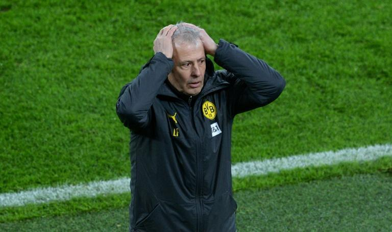 Lucien Favre was sacked by Borussia Dortmund on Sunday after a third consecutive home defeat in the Bundesliga