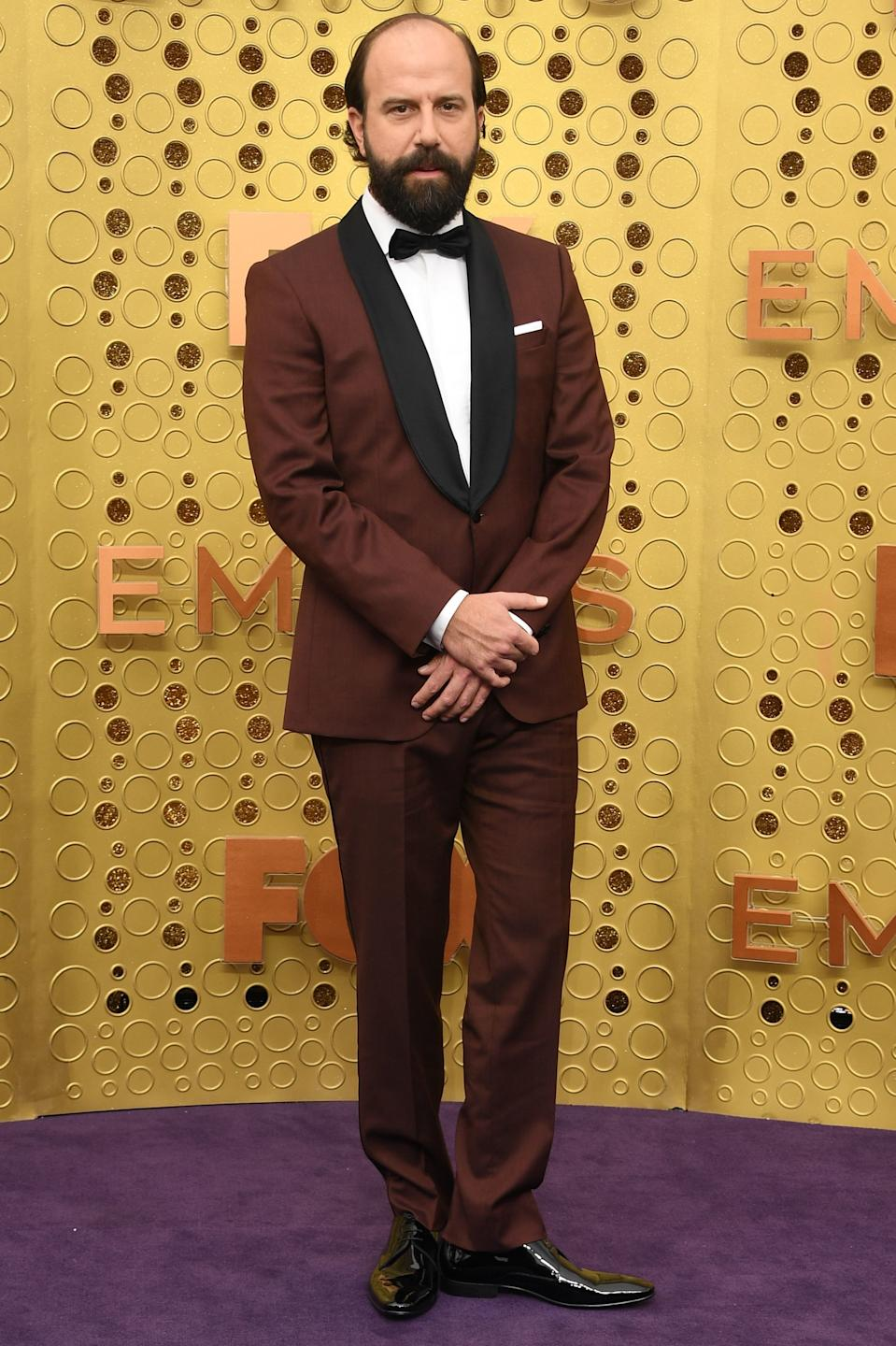 """<h1 class=""""title"""">Brett Gelman in Montblanc jewelry</h1><cite class=""""credit"""">Photo: Getty Images</cite>"""
