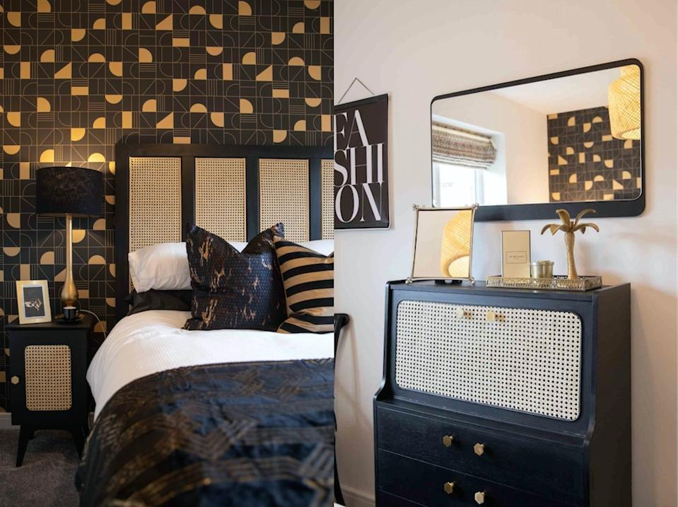 A house has been given an Insta-worthy makeover using charity shop finds. (British Heart Foundation)