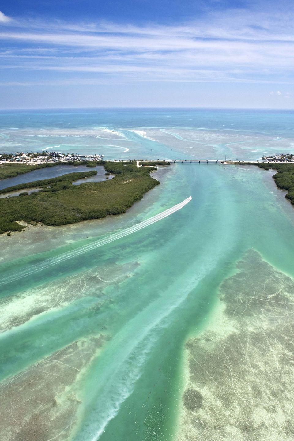 <p><strong>Where: </strong>Florida Keys, Florida</p><p><strong>Why We Love It: </strong>Florida is home to over a thousand miles of America's coastline, including the string of tropical islands that make up the state's southern tip.</p>
