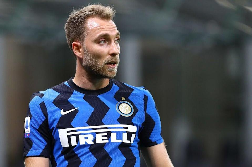 Eriksen has been mostly sub this season for Inter (Getty Images)