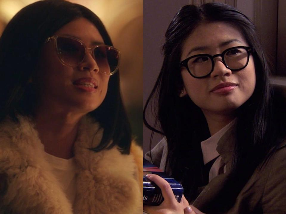 """""""Gossip Girl"""" character Nelly Yuki on the new show and on the original series."""