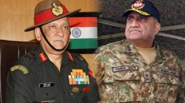 While Indian Army chief Bipin Rawat on Saturday welcomed India's decision to call off talks and said that it's time to give it back to Pakistan army and terrorists, Pakistan Army has said that the nuclear-powered nation is ready for war.