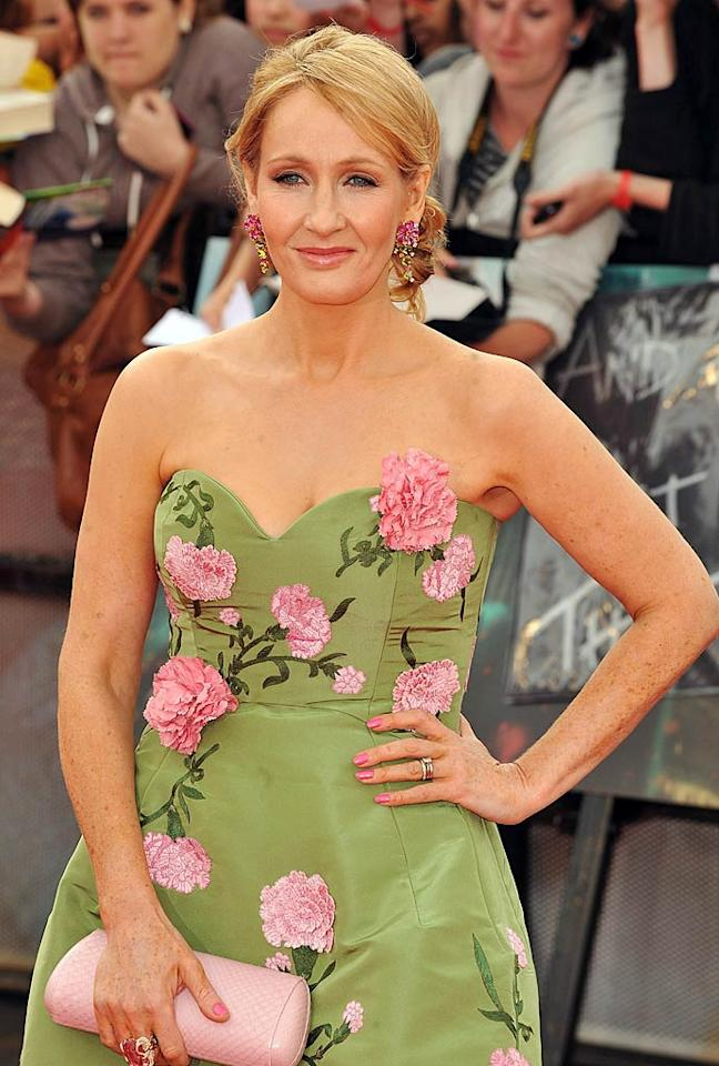 "July 31: ""Harry Potter"" author J.K. Rowling turns 46. Ferdaus Shamim/<a href=""http://www.wireimage.com"" target=""new"">WireImage.com</a> - July 7, 2011"