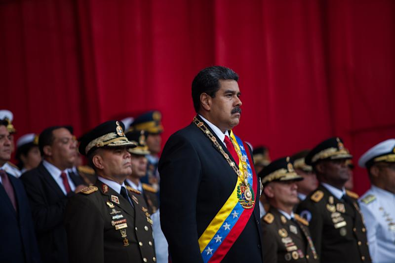 Maduro's Troops Kill 2 as Opposition Tries to Open Borders