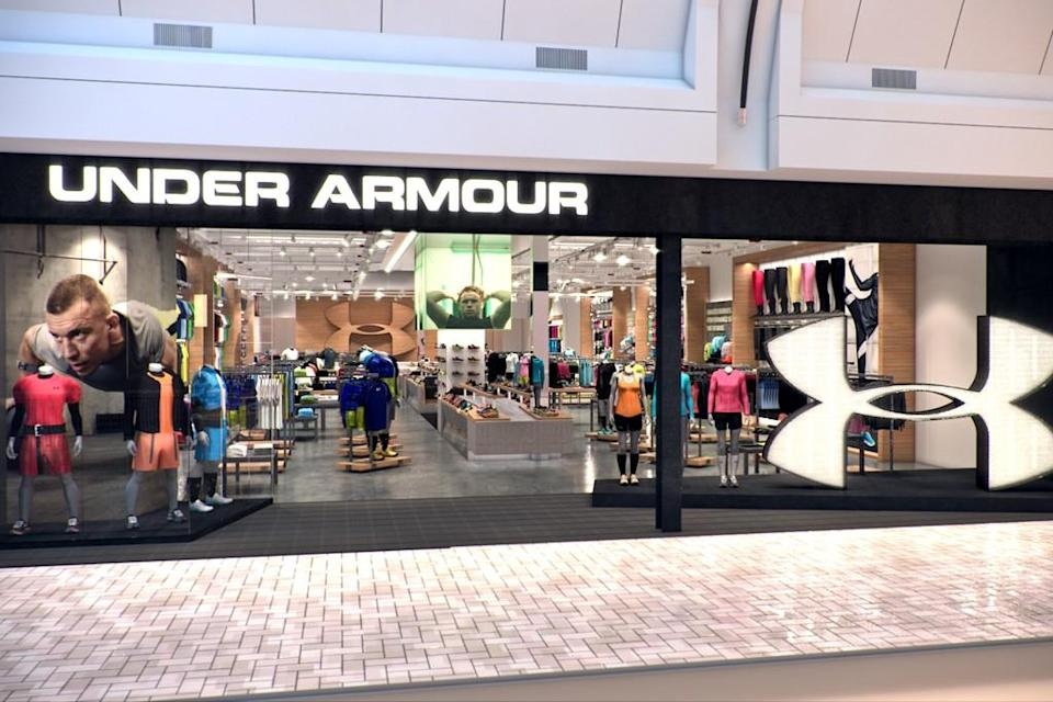 An Under Armour retail store. - Credit: Courtesy of brand.