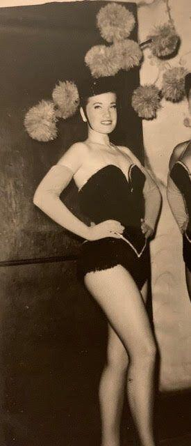 The author's mom, Reta, during her dancing days. (Photo: Courtesy of Jamie Rose)