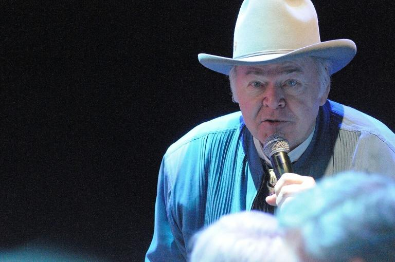 """Roy Clark -- shown here at The Grand Ole Opry in October 2012 in Nashville -- was a Grammy winner and the long-time host of """"Hee Haw"""""""