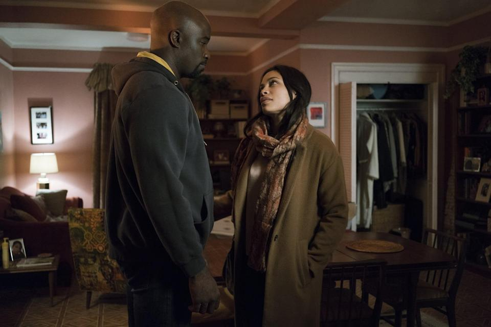 """<p>When they're not fighting the supervillain organization The Hand, the Defenders face battles of the heart when old flames appear and stir up drama in this epic superhero mashup. You'll know what we mean when Claire and Elektra pop up. </p> <p><a href=""""http://www.netflix.com/title/80002566"""" class=""""link rapid-noclick-resp"""" rel=""""nofollow noopener"""" target=""""_blank"""" data-ylk=""""slk:Watch Marvel's The Defenders on Netflix now"""">Watch <strong>Marvel's The Defenders</strong> on Netflix now</a>.</p>"""