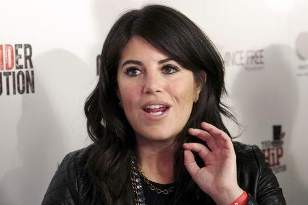 FILE PHOTO: Lewinsky arrives at the #IAmDancingMan party at the Avalon Hollywood in Los Angeles, California