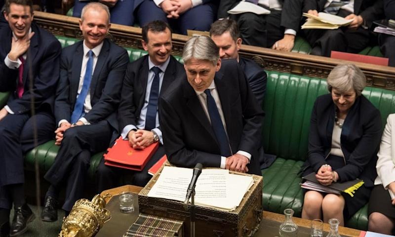 Philip Hammond's budget speech