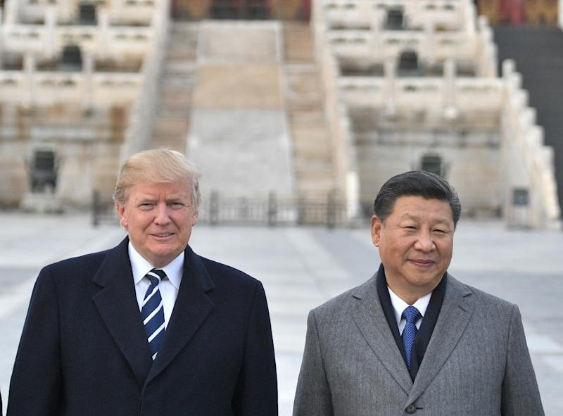 US President Donald Trump had dinner with Chinese President Xi Jinping on the day that Meng Wanzhou was arrested (AFP Photo/Jim WATSON)