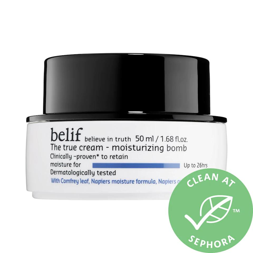 belif The True Cream Moisturizing Bomb. Image via Sephora