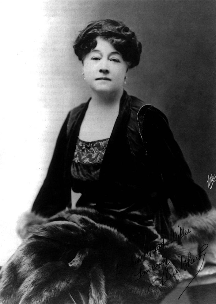 <p>Alice Guy-Blache (1873-1968), French pioneer filmmaker, was the first female director in the motion picture industry. (Photo: Apic/Getty Images) </p>