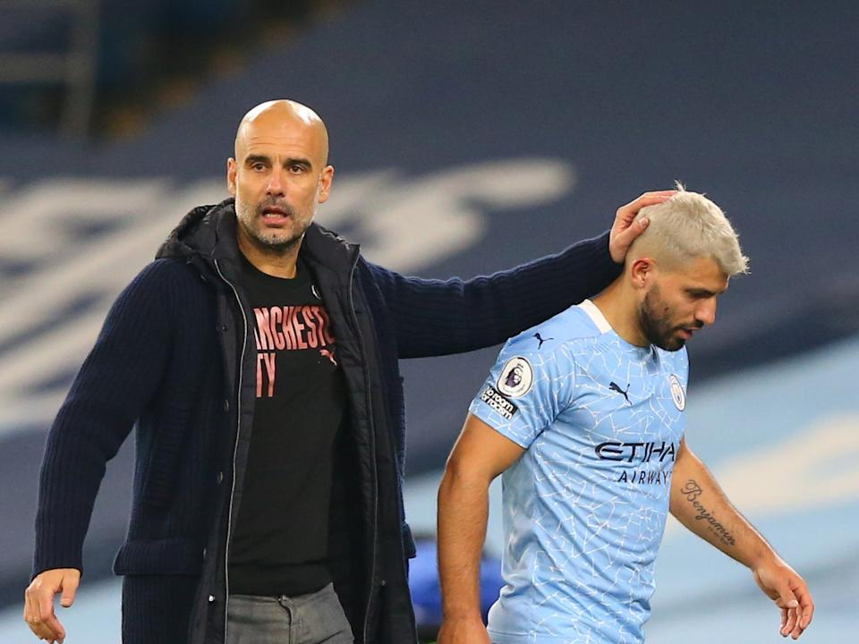 Guardiola has asked what next after a blow to FernandinhoGetty