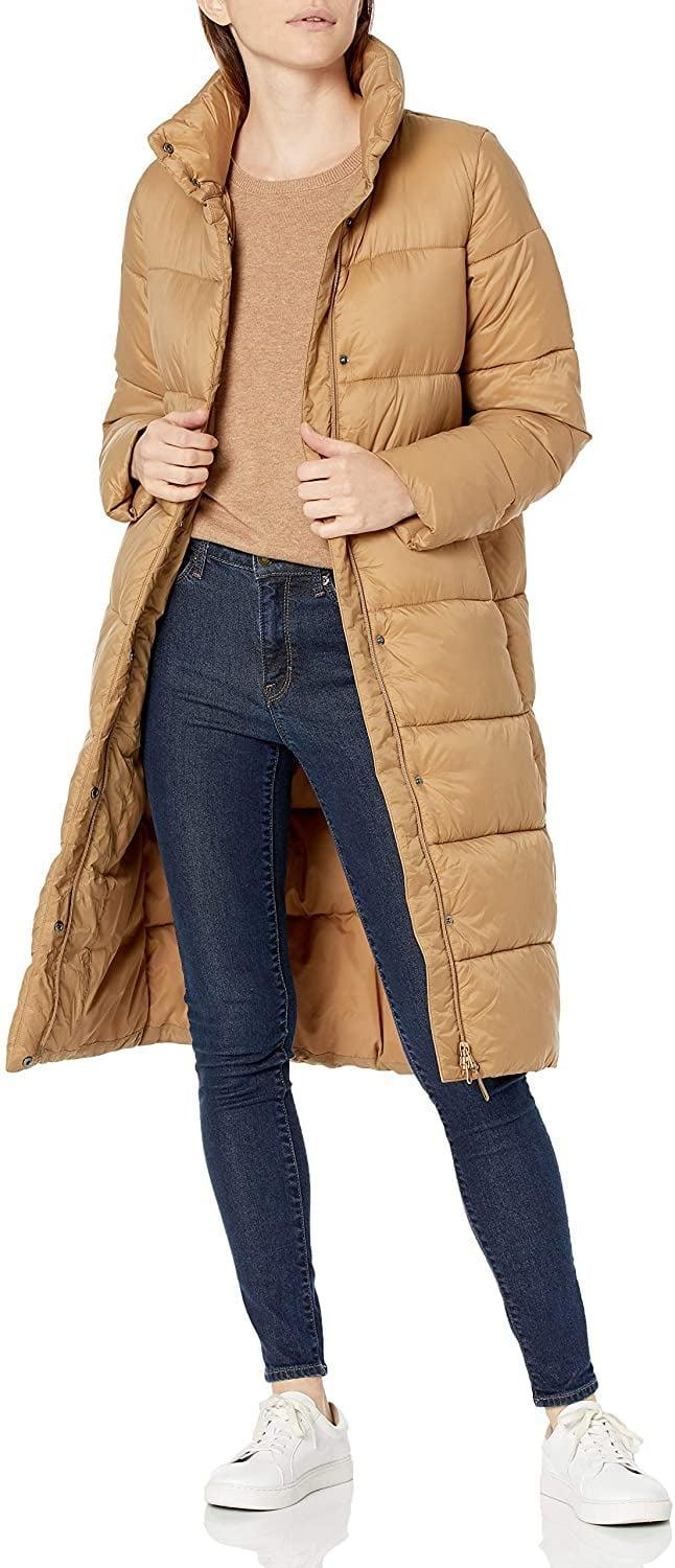 <p>To lighten up your fall palette, opt for this camel-colored <span>Amazon Essentials Cocoon Puffer Coat</span> ($60). It's designed to insulate you from cold snaps and to feel like a warm hug.</p>