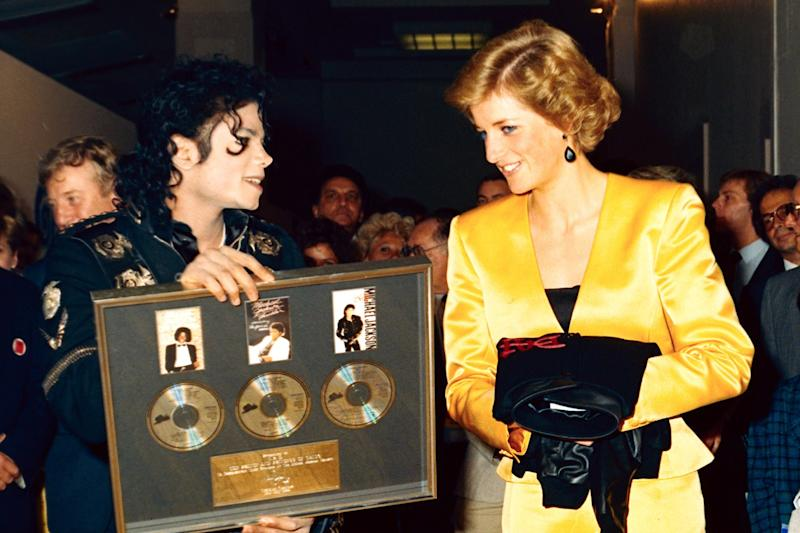 """Princess Diana and Prince Charles met Michael Jackson before his show at Wembley Stadium on his Bad World Tour. Jackson later recalled that she requested the song """"Dirty Diana,"""" about a crazed groupie, but the performer had already taken it off the lineup out of respect for her."""