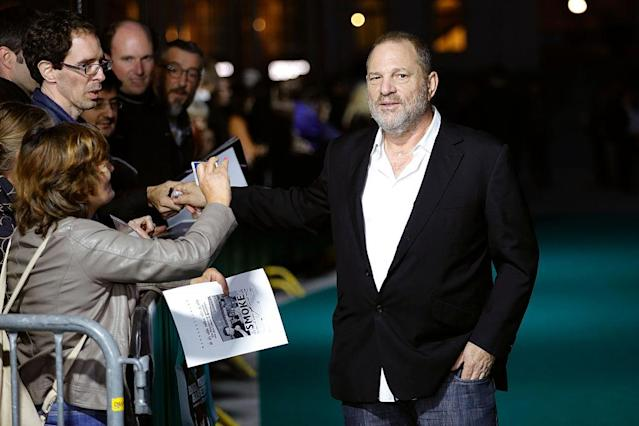 Harvey Weinstein at the 2016 Zurich Film Festival. (Photo: Andreas Rentz/Getty Images)