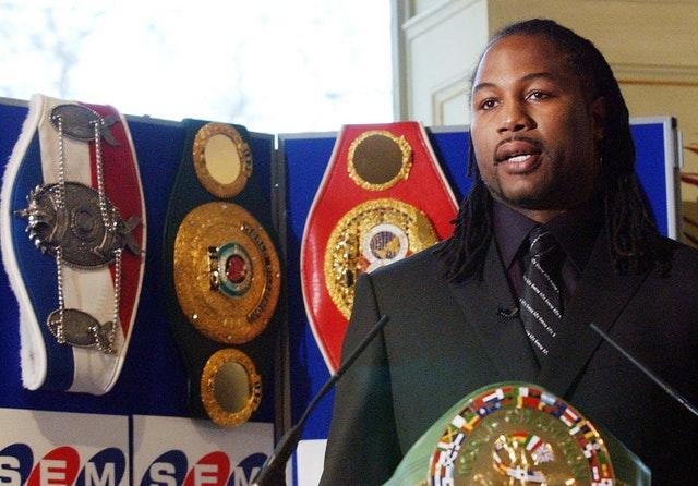 Lennox Lewis won a troubling rematch over Oliver McCall (Sean Dempsey/PA)