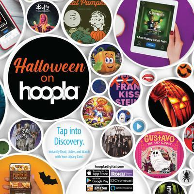 To help families celebrate Halloween at home, hoopla digital introduces curated collections of Halloween-themed movies, TV shows, eBooks and audiobooks. Appealing to kids and adults of all ages, the titles are available instantly via the hoopla digital mobile app or website.