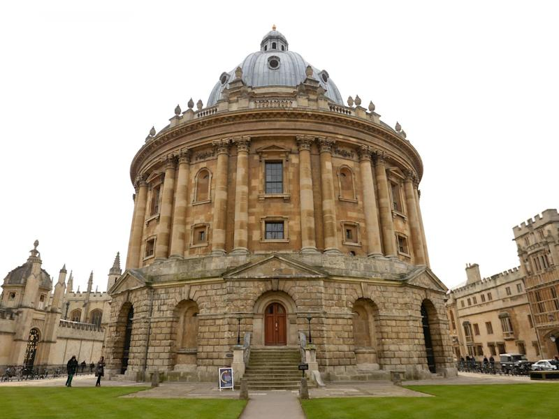 The Radcliffe Camera, part of Oxford University: PA