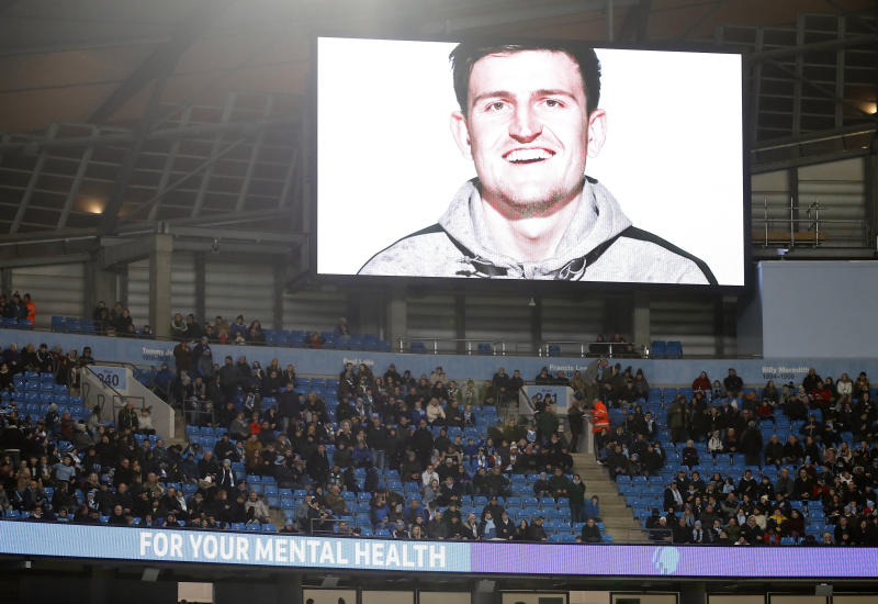Mental health videos are being shown before every FA Cup game this weekend as part of a broader initiative. (Photo by Martin Rickett/PA Images via Getty Images)