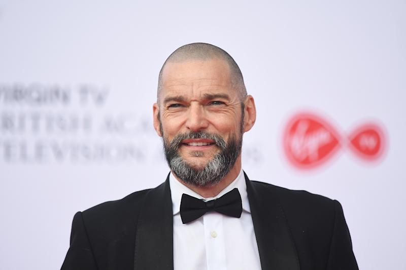 Fred Sirieix attends the Virgin TV British Academy Television Awards 2018 at The Royal Festival Hall. (Photo by Samir Hussein/Samir Hussein/WireImage)