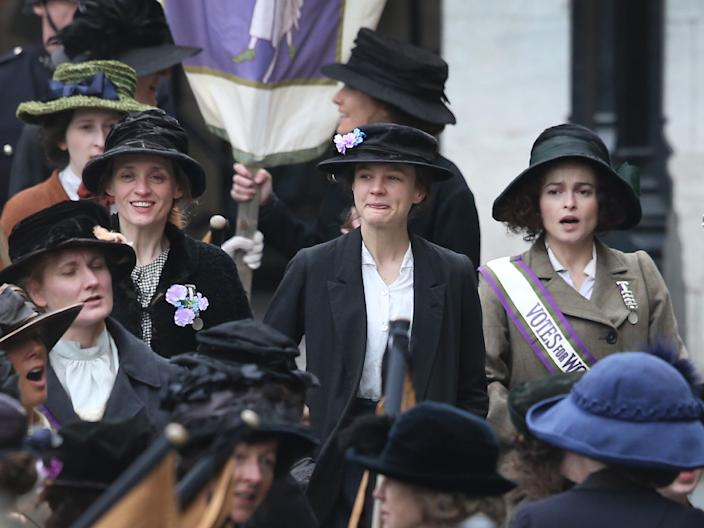 Suffragette Peter Macdiarmid Getty Images