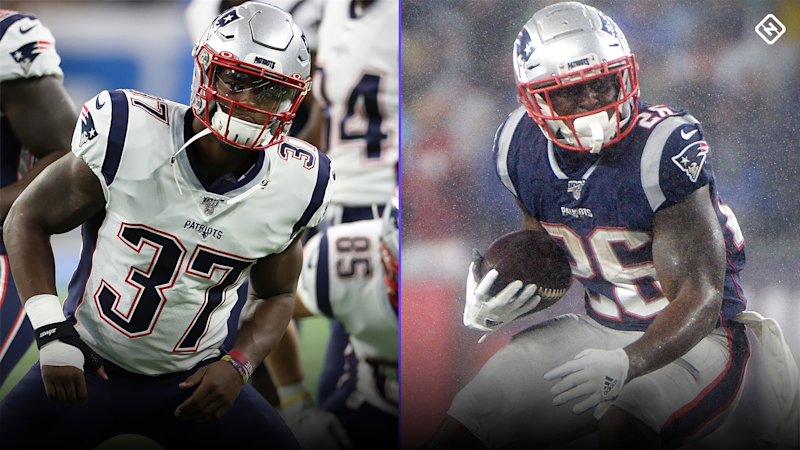 Damien Harris Fantasy Outlook: Can Harris emerge over Sony Michel in a crowded Patriots backfield?