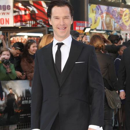 Cumberbatch fell for 'neutron cream' prank