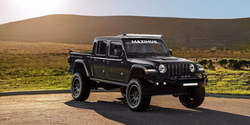 $200,000 Jeep Gladiator-based MAXIMUS is unveiled, with only 24 to be built