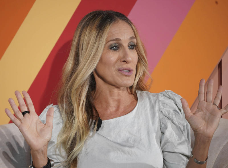 Photo by: John Nacion/STAR MAX/IPx 2019 9/18/19 Sarah Jessica Parker attends the #BlogHer19 Creators Summit at Brooklyn Expo Center in New York City.