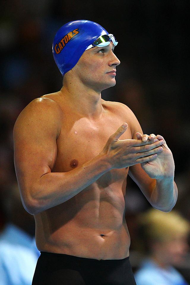 "The London Games will be the third Olympic outing for swimmer Ryan Lochte, 27, who has six medals: three gold, two silver, and one bronze. Although the Olympic heartthrob specializes in the backstroke, the Florida native holds the world record for the 4×200-meter freestyle relay and individually for the 200-meter and 400-meter. No wonder he's considered to be Michael Phelps' biggest rival ""It's a rivalry that we've had for almost eight years now,"" Lochte said. ""We've just  been switching back and forth. It's hard to say who's the best swimmer  because we're both great racers."""
