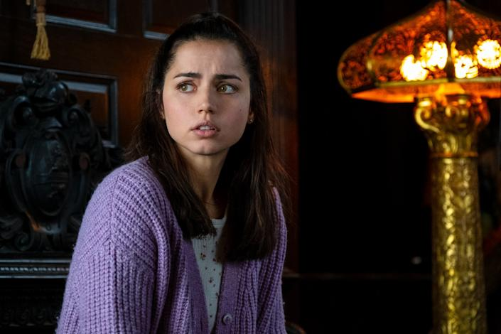 "Ana de Armas as Marta Cabrera in ""Knives Out."" <span class=""copyright"">(Claire Folger / Lionsgate)</span>"