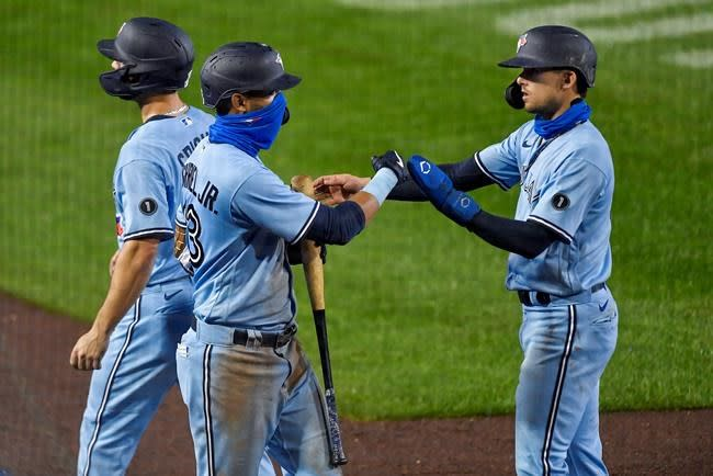 Tellez hits 2 homers in Blue Jays 9-1 win over Red Sox