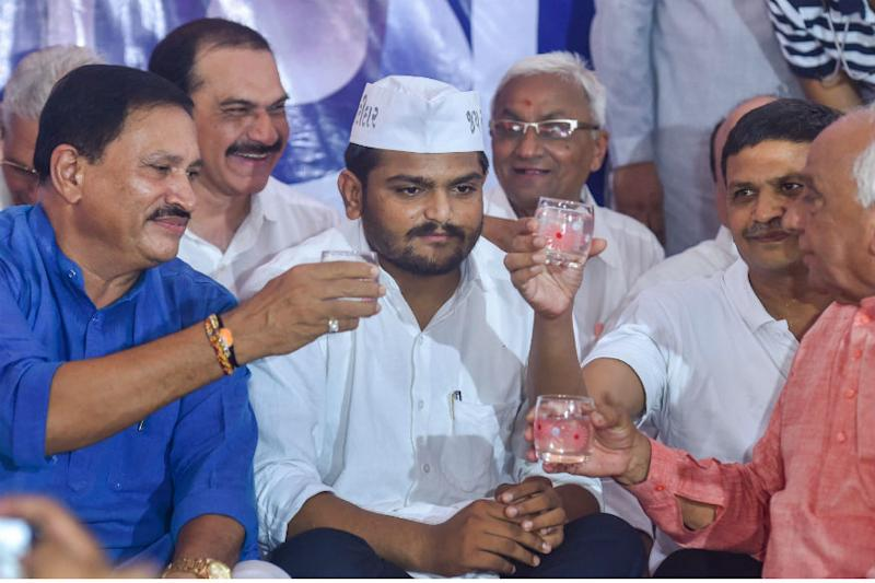As Hardik Patel's 'Fast Forward' Strategy Ends in Embarrassment, BJP Adds a Pinch of Salt