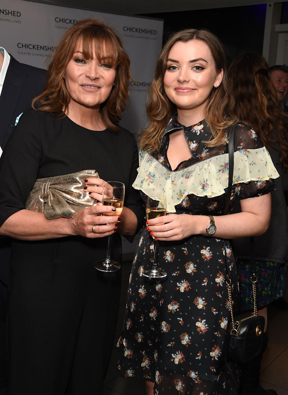 LONDON, ENGLAND - APRIL 17:  Lorraine Kelly and Rosie Smith attend a drinks reception ahead of 'An Evening With Chickenshed' charity performance at ITV Studios on April 17, 2018 in London, England.  (Photo by David M. Benett/Dave Benett/Getty Images)