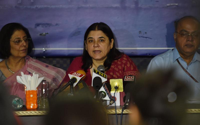 Maneka Gandhi has written a letter detailing the duty of care expected of all employers - AFP