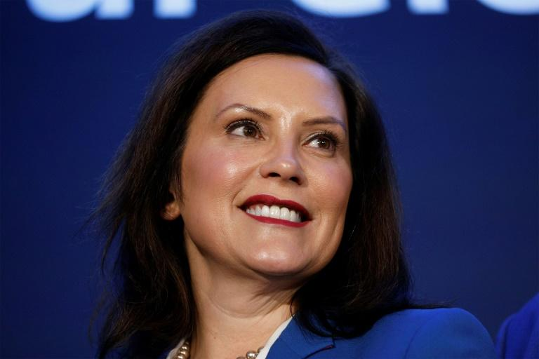 A governadora de Michigan, Gretchen Whitmer