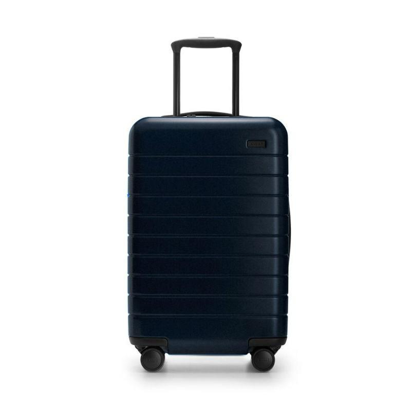 "<p>This crowd-favorite Away Carry-On Suitcase is durable (made with a polycarbonate shell) and super sleek for the dad on the go, once it's safe to travel freely. It fits perfectly in any overhead bin — no more trying to ram his suitcase in and holding up the other passengers — and it comes with a TSA-compliant lock and ejectable battery to charge his phone when all of the public outlets are taken. He'll love packing this for his next trip, whether it's a vacation or a visit to see his favorite kid (you, obviously).</p> <p><strong>$225</strong> (<a href=""https://www.awaytravel.com/luggage/carry-on/black"" rel=""nofollow noopener"" target=""_blank"" data-ylk=""slk:Shop Now"" class=""link rapid-noclick-resp"">Shop Now</a>)</p>"