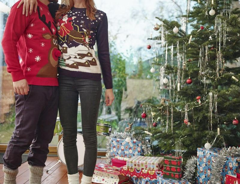 In honour of National Christmas Jumper Day on Friday December 15, Alaska Airlines and Virgin Americawill give free priority boarding to anyone who rocks up at the gate wearing an 'ugly' jumper. Photo: Getty Images