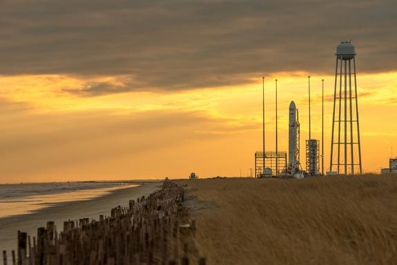 Private Cygnus Cargo Ship Launching to Space Station Today: Watch It Live