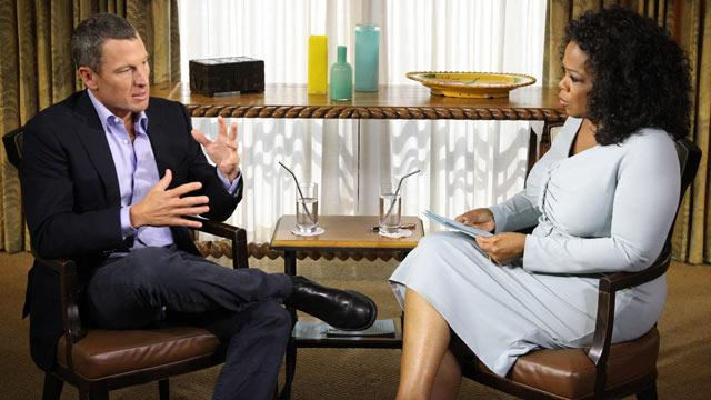 Winfrey: Armstrong Interview Intense