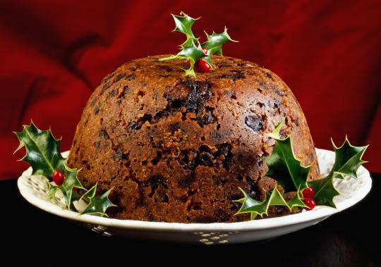 Christmas Pudding On Fire.Fire Crews Were Called Out To A Christmas Pudding Blaze Last