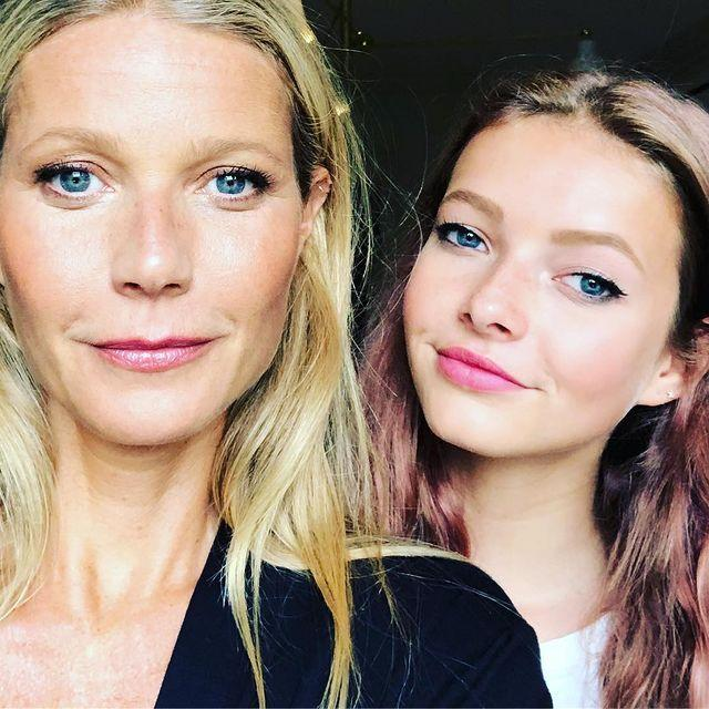 """<p>Gwyneth shared this photo of her and Chris Martin's daughter Apple to celebrate National Daughters Day.</p><p>She captioned it; """"Happy #nationaldaughtersday Apple Martin, it's like I conjured you from a dream, you make my life.""""</p><p><a href=""""https://www.instagram.com/p/BoMiWcGnmkU/"""" rel=""""nofollow noopener"""" target=""""_blank"""" data-ylk=""""slk:See the original post on Instagram"""" class=""""link rapid-noclick-resp"""">See the original post on Instagram</a></p>"""