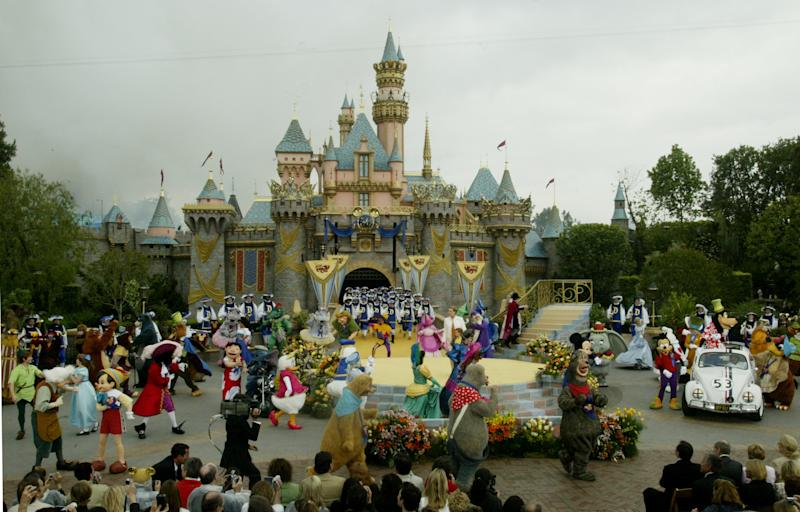 An outbreak of Legionnaires' disease hit Disneyland in California last month, leading the park to close down two cooling towers. (Fred Prouser / Reuters)