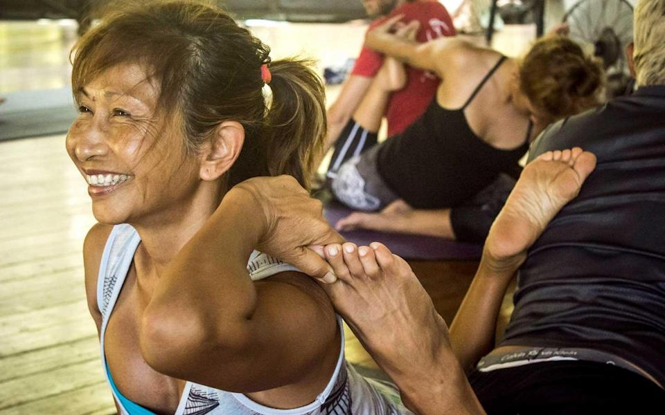 """<p>Kalani Yoga Retreats, a nonprofit organization, presents programs that focus on sustainability and education and also hosts <a rel=""""nofollow noopener"""" href=""""https://kalani.com/about/"""" target=""""_blank"""" data-ylk=""""slk:regular yoga retreats"""" class=""""link rapid-noclick-resp"""">regular yoga retreats</a>. Beginners to experts are welcome at the retreats, which cover a range of yoga practices from restorative yoga to more intense hot yoga classes. Six-day retreats start at $1,810. Spa treatments <a rel=""""nofollow noopener"""" href=""""https://kalani.com/wellness/#pricing"""" target=""""_blank"""" data-ylk=""""slk:start at $109"""" class=""""link rapid-noclick-resp"""">start at $109</a> (for 60 minutes).</p> <p>The facilities themselves include multiple pools, hot tubs, massage space, and offer therapeutic bodywork and wellness treatments. Plus, the location above the ocean doesn't hurt either.</p>"""